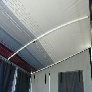 Aussie Traveller Curved Roof Rafter For Caravan Roll Out