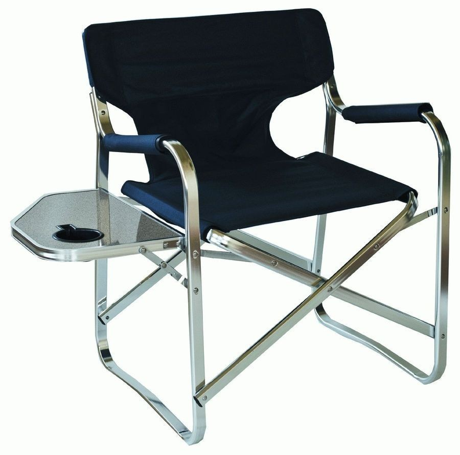 Lightweight Aluminium Folding Camping Directors Chair Buy Now From Campsmart