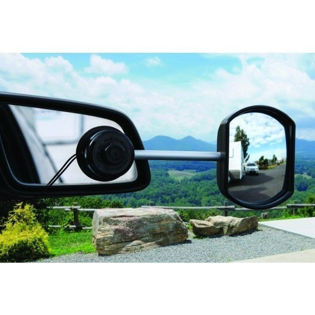 Drop Down Hitch >> Camec Suction Cup Towing Mirror
