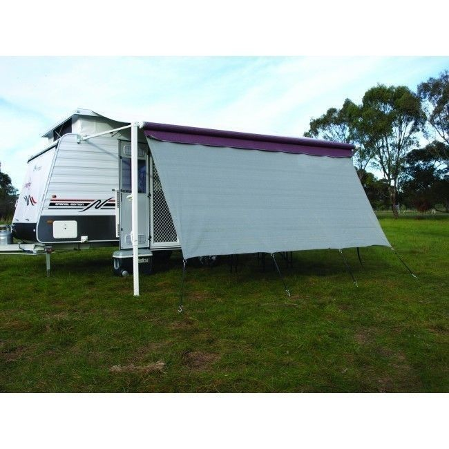 4 6m Camec Caravan Privacy Screen Sunscreen Sun Shade