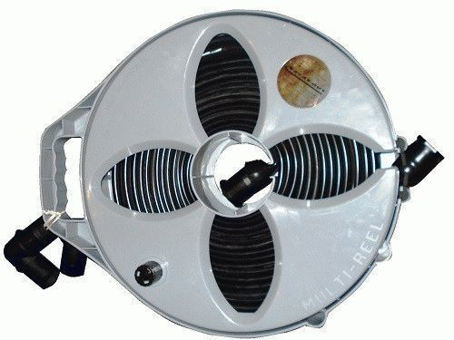 9m 32mm Flat Out Sullage Waste Grey Water Hose Amp Reel