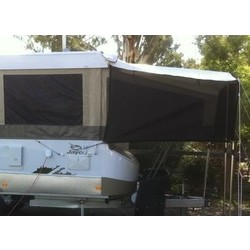 Bed Flys for Camper Trailer - Two Double Ends
