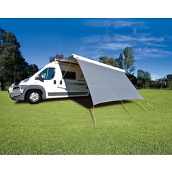 2.43m Privacy Screen for 2.6m Fiamma F45 Awning