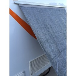Fridge Shade Wall Sunscreen with Sail Track