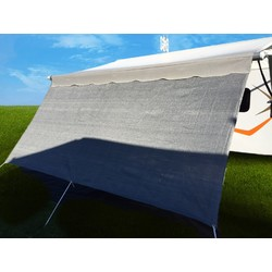 4.0 m Sunshade Privacy Screen for Caravans