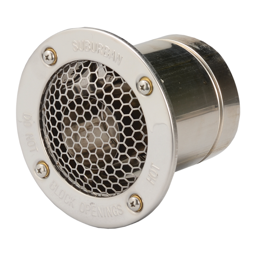 Suburban Nautilus Vent For 5.0 - 7.6 Cm (2 - 3 Inches) Wall Thickness