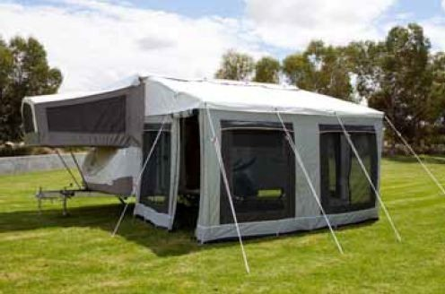 Jayco Bag Awning & Walls Annexe package for Dov Camper ...