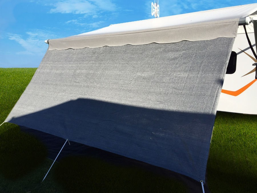 55m Sun Screen Privacy Shade For 19 Rollout Caravan Awnings
