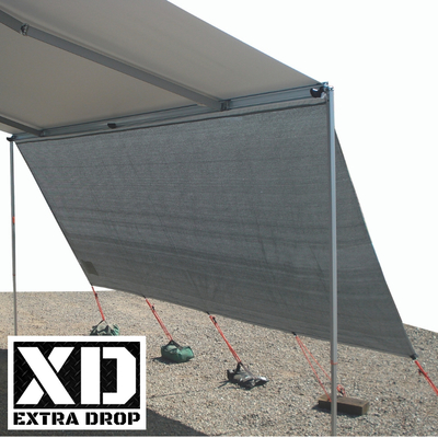 3.85m XD Privacy Screen for 4.0m Fiamma Awning